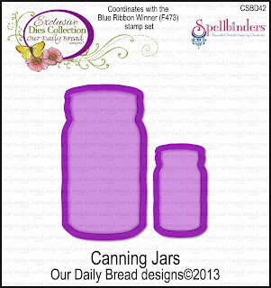 Our Daily Bread Designs Custom Canning Jars Die