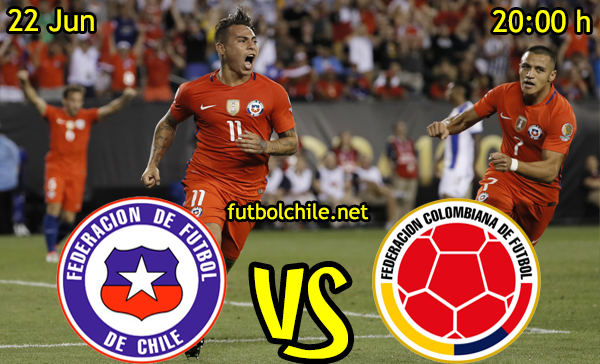 VER STREAM RESULTADO EN VIVO, ONLINE: Chile vs Colombia