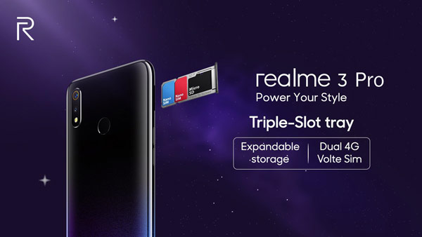 Realme 3 Pro specifications Successor of Realme 2 Pro announced with Qualcomm® Snapdragon™ 712