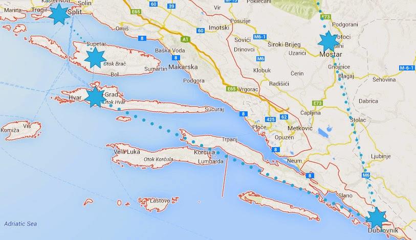 Lomalle Kroatiaan
