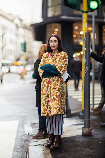 tendenza tapestry street style fashion moda inverno 2019 tendenze autunno 2018 how to wear tapestry mariafelicia magno fashion blogger colorblock by felym