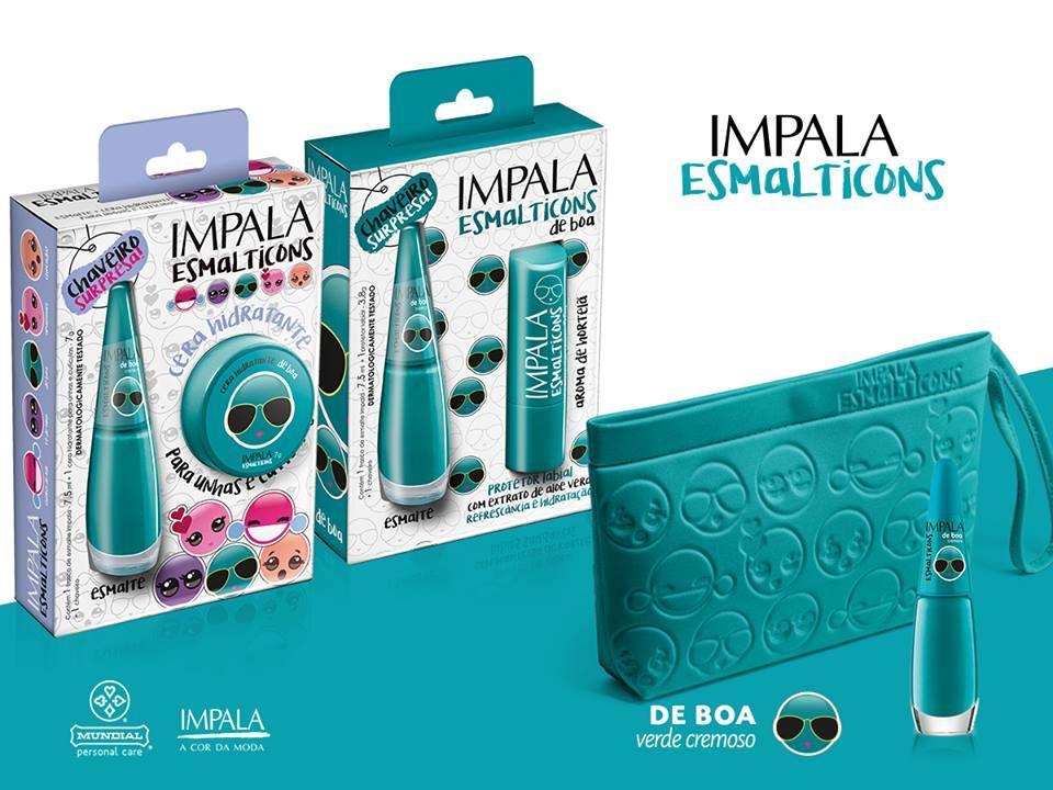 Lançamento: Esmalticons nova coleção de esmaltes da Impala.
