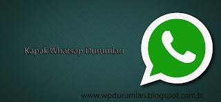kapak sözler whatsapp