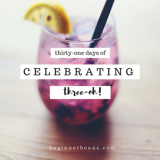 a 31-day blog series celebrating 30
