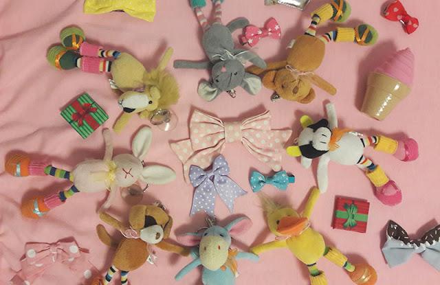 brinquedos fofos para doação