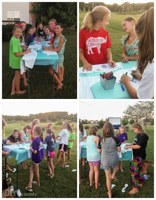 Birthday party for tween girl | DIY beautify