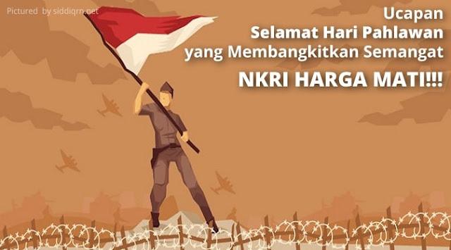 Ucapan Selamat Hari Pahlawan