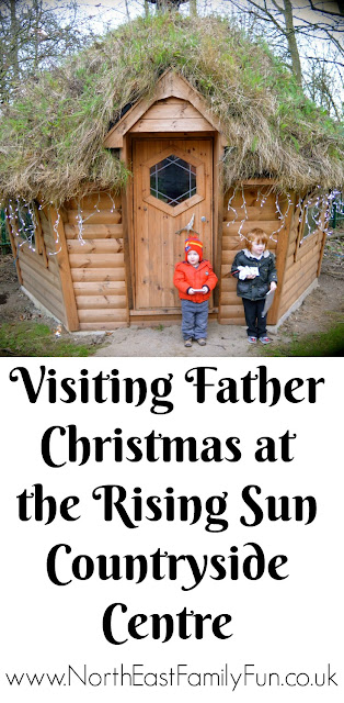 Santa's Grotto at Rising Sun Countryside Centre, North Tyneside - A review