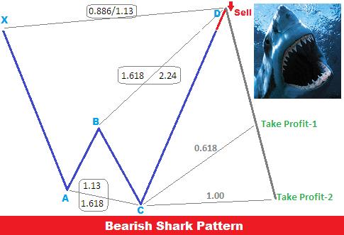 Shark pattern forex