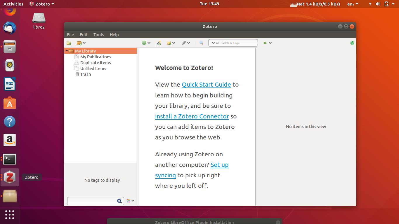 zotero standalone ubuntu