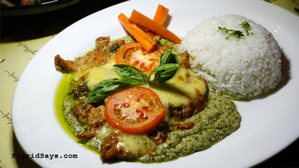 Yellow Leaf Cuisine - The Boxes - Bacolod restaurants