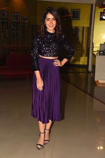 Actress Raashi Khanna Stills at Prathi Roju Pandage Movie Trailer Launch