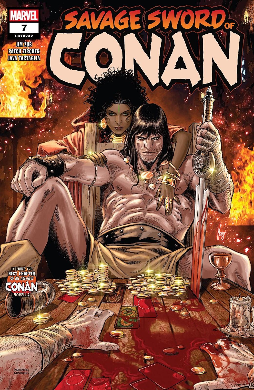 Starships & Steel: Savage Sword of Conan: Issue #7 (2019