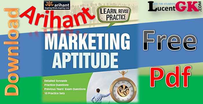 Arihant Marketing Aptitude Pdf