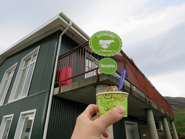 Self-drive around Iceland's Golden Circle: ice cream at Efsti-dalur