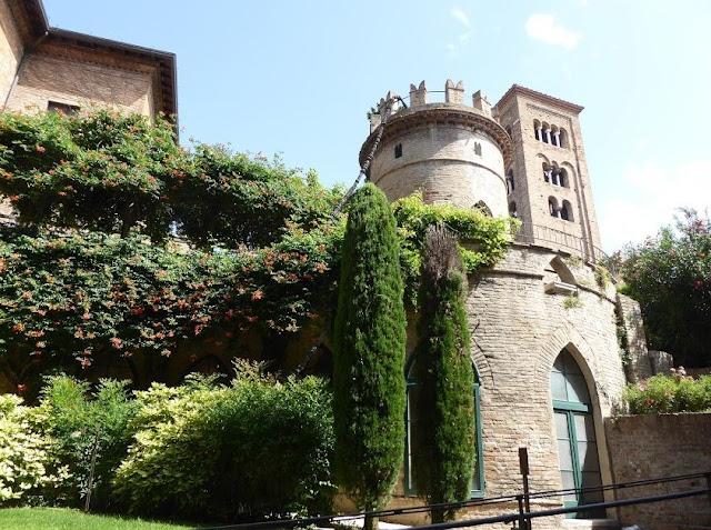 giardino pensile e cripta rasponi