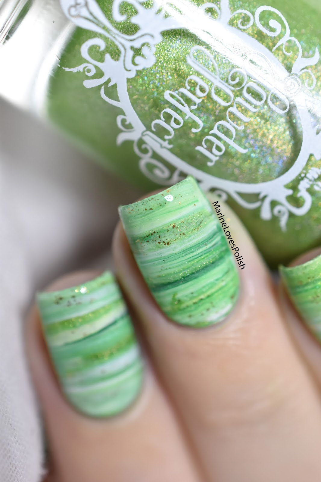 Easy Dry Marble Nail Art - My Own Email