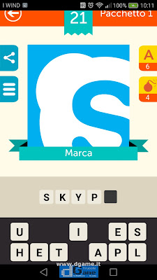 Iconica Italia Pop Logo Quiz soluzione pacchetto 1 livelli 21-25