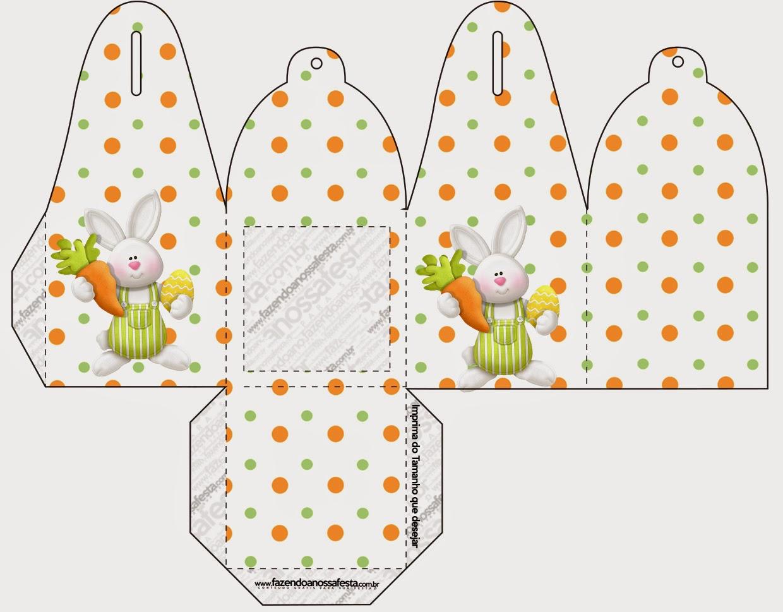 Easter In Orange Free Printable Boxes
