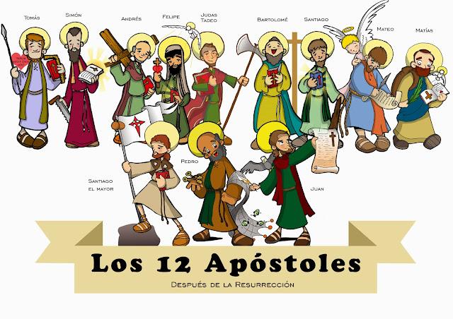 Resultado de imagen de los apóstoles para niños