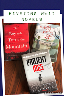 historical fiction, novels, reading, middle school, The Boy at the Top of the Mountain, Projekt 1065, The War that Saved My Life
