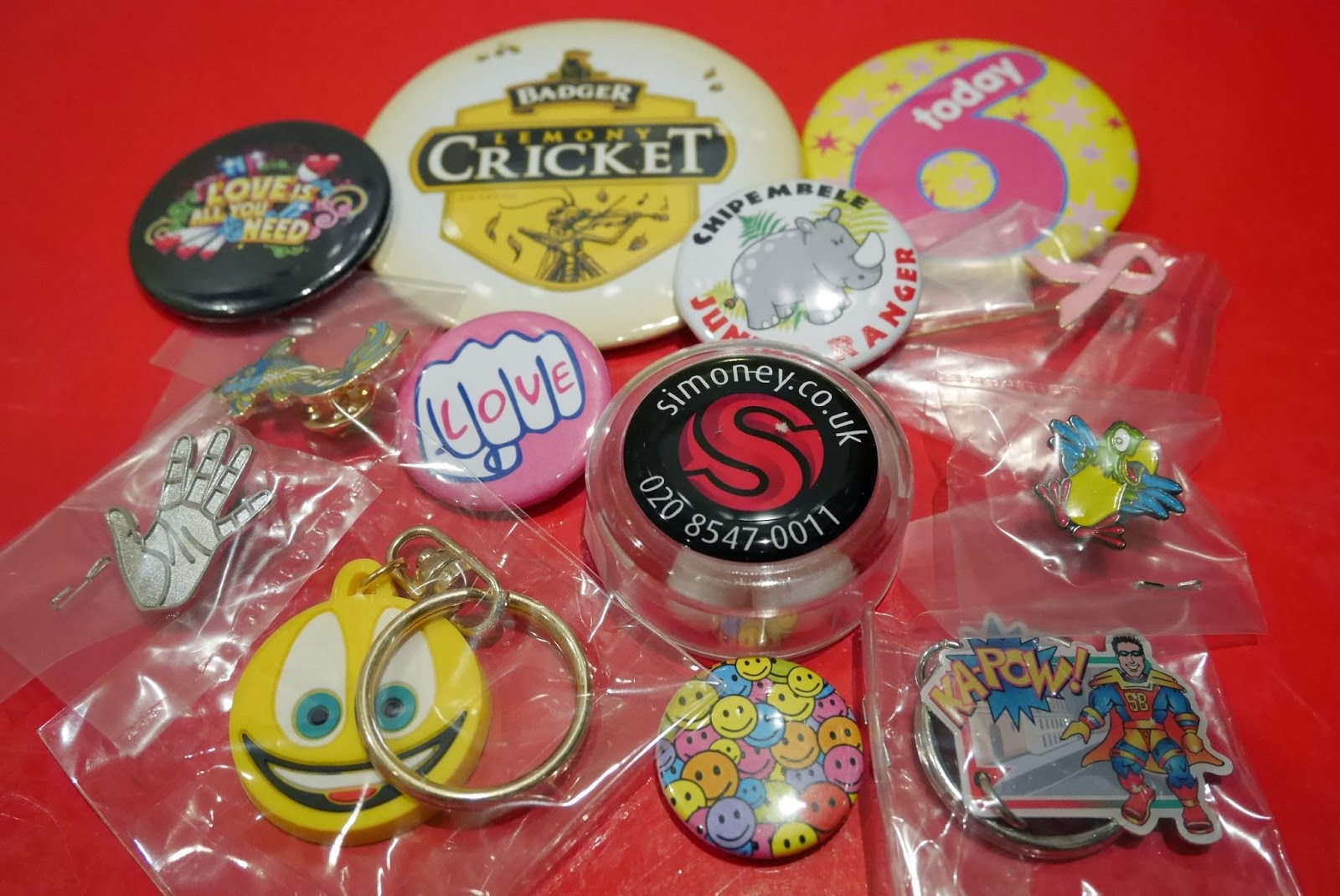 Simoney badge range