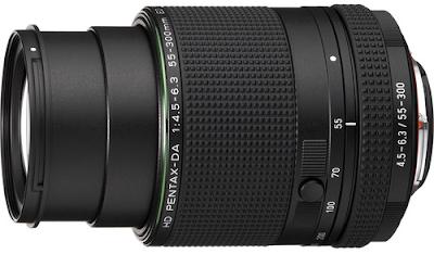 Объектив Pentax HD DA 55-300mm f/4.5-6.3 ED PLM WR RE