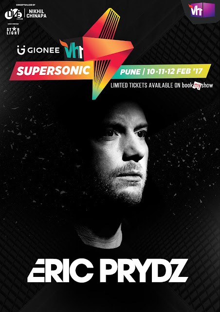 Vh1 Supersonic accomplishes the impossible! – Announces ERIC PRYDZ as The First Headline Artist for 2017 Edition
