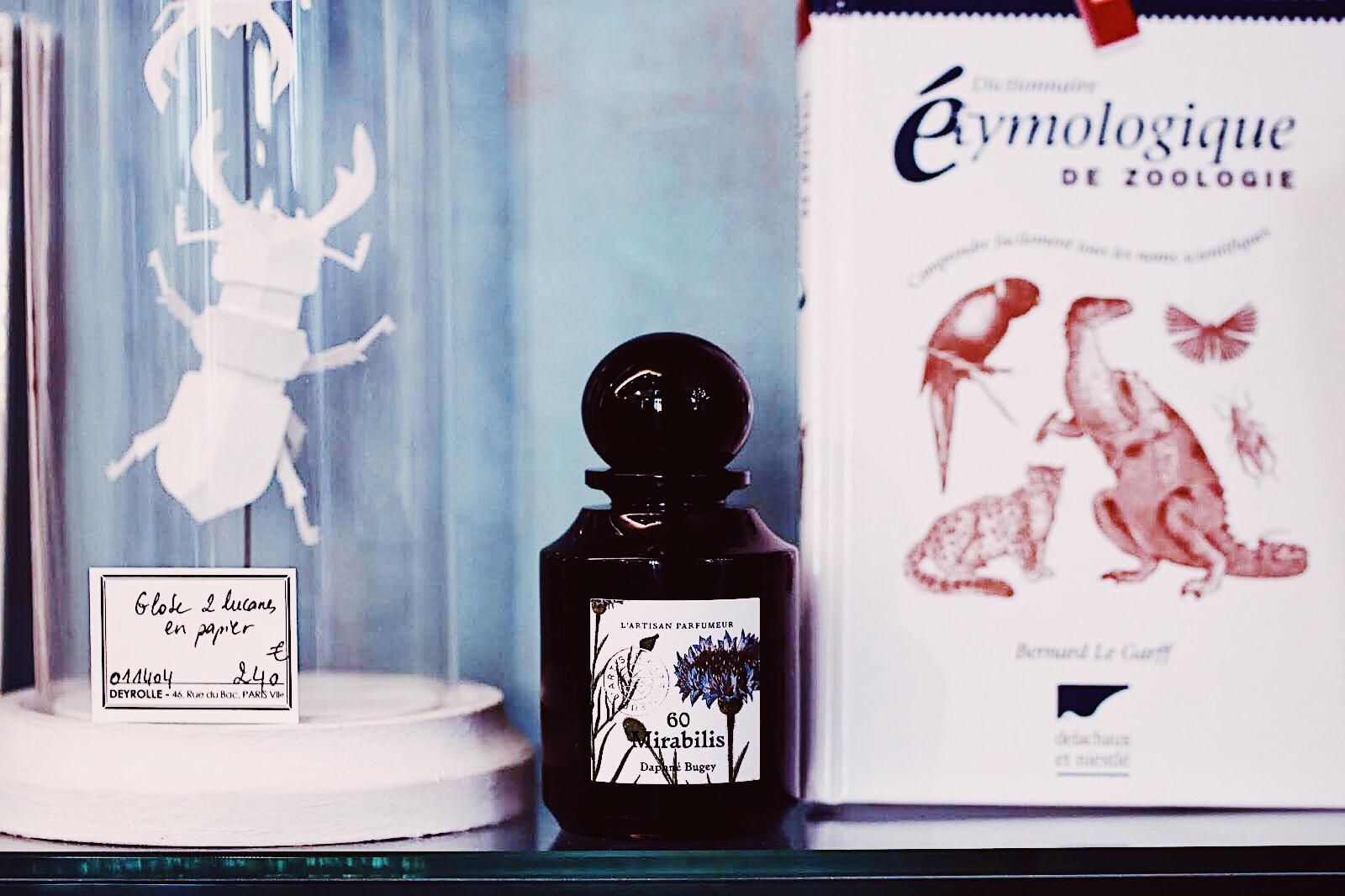 l'artisan parfumeur deyrolle collection la botanique mirabilis 60 avis test