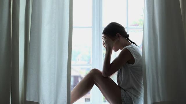 Hình ảnh buồn diễn tả về cuộc sống qúa mệt mỏi