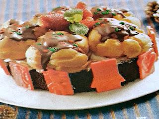 Gambar Resep Cake Cokelat Sus Vla