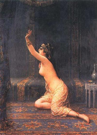 Apologise, but, harem slave girls consider, that