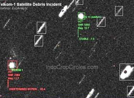 Dalang Kerusakan Ribuan ATM: Satelit Telkom Dihantam UFO?