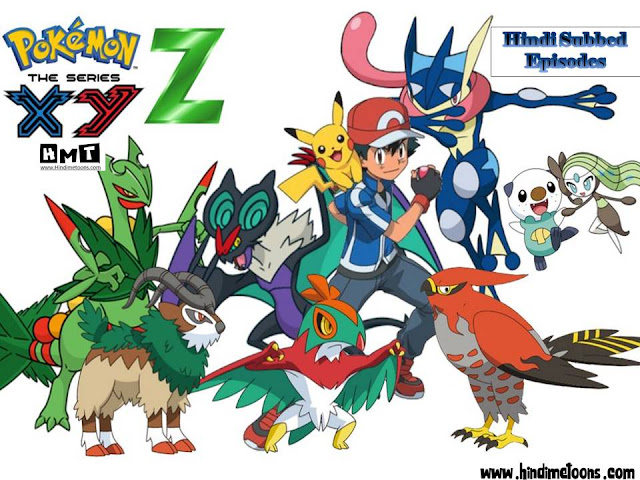 Download Pokemon xyz HINDI Subbed Episodes