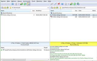 تحميل برنامج الملفات والى الموقع