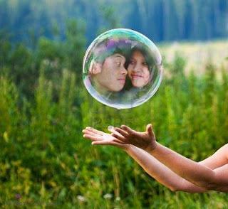 Edit Foto Efek Gelembung di Picsart