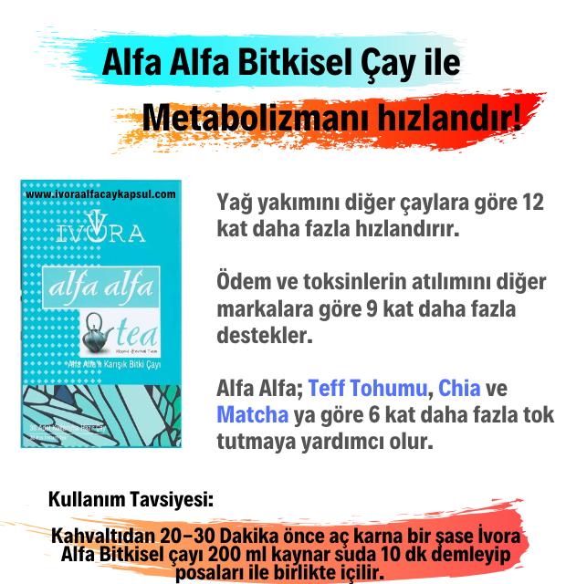 ivora alfa çay faydaları