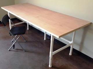 Contoh Furniture dari Pvc