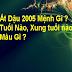Tuổi Ất Dậu 2005 Mệnh Gì ? Hợp Tuổi Nào Hợp Màu Gì