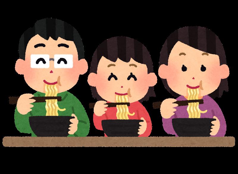 「ラーメンを食べる人」の画像検索結果