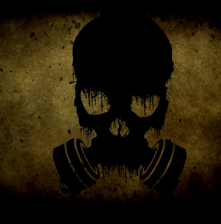 cool skull with gas mask wallpapers | wallpapers gallery