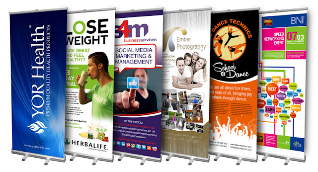 Pop up Banner Signs in Trade Shows