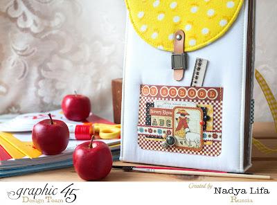 Альбом сумочка Надя Lifa СП I love G45