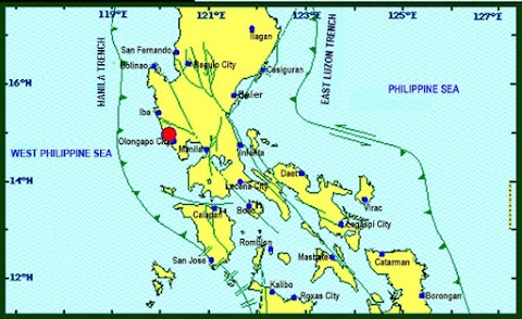 Magnitude 5.7 earthquake hit Zambales and felt in Metro Manila