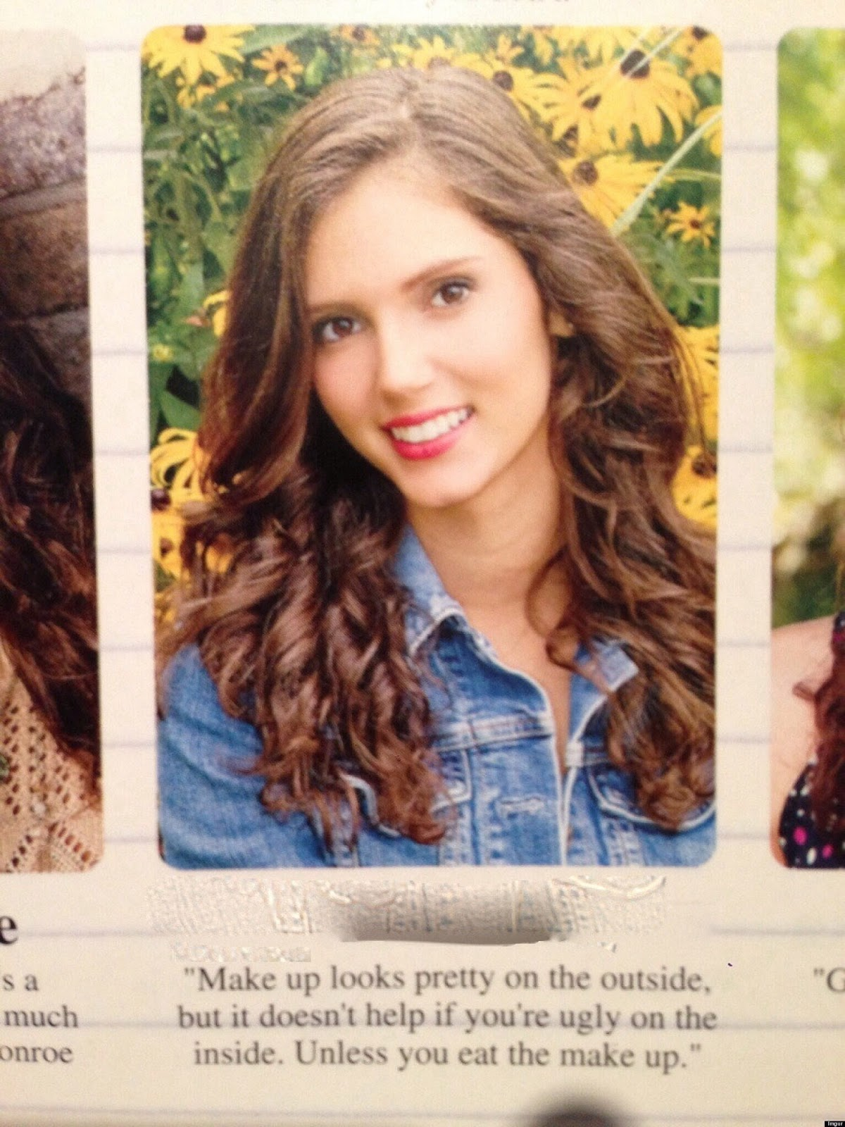 10 Hilarious Senior Yearbook Quotes   Best of one Liners