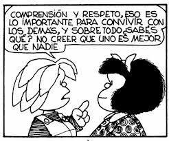Mafalda lo sabe todo