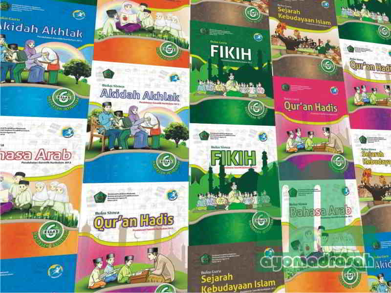 Download Buku Pai Dan Bahasa Arab K13 Kelas 6 Mi Mi Al Hidayah