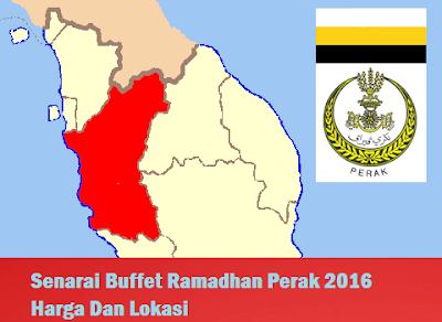 Buffet Ramadhan Perak 2016 Harga Dan Lokasi