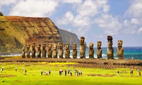 Terungkapnya Misteri Patung Kepala Moai Di Pulau Paskah