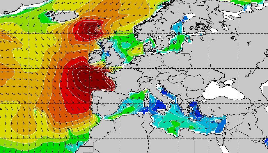 mapa olas